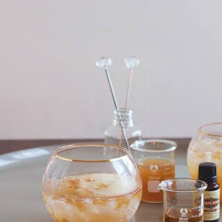 Ginger Bourbon Cider.