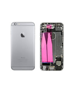 iPhone 6G Back Housing with small parts Original Pulled Black