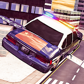 Police Flying Car Simulation Android APK Download Free By 3MenStudio