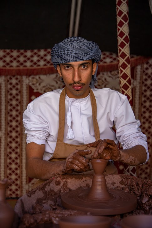 ceramika, Oman