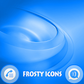 Swirls Blue Theme For Xperia