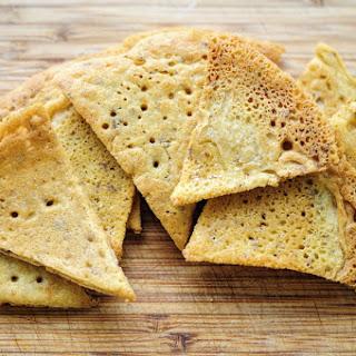 Chickpea (Garbanzo Bean) Flour Tortillas, Chips & Taco Shells (Gluten Free, Vegan).