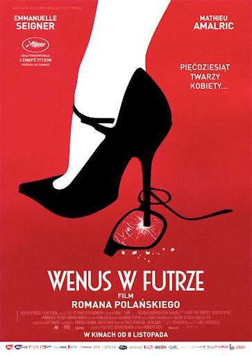Przód ulotki filmu 'Wenus W Futrze'