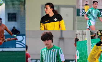 Cinco almerienses en el Real Betis