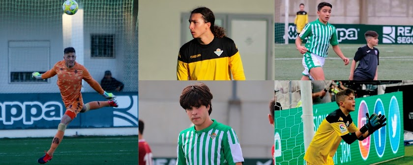 Cinco almerienses en el Real Betis