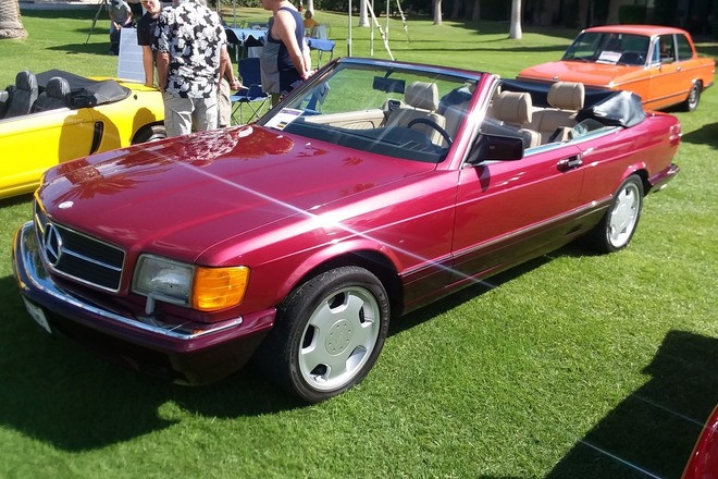 Mercedes Custom Convertible Hire California