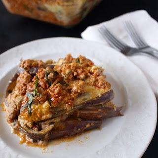 Turkey Eggplant Lasagna.