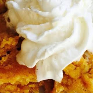 Crockin' Moms Pumpkin Dump Cake!.