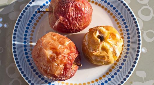 Domingo con capricho gastronómico: manzana al horno con canela