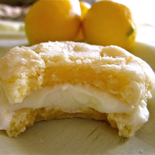 Lemon Crinkle Cookies with Lemon Frosting