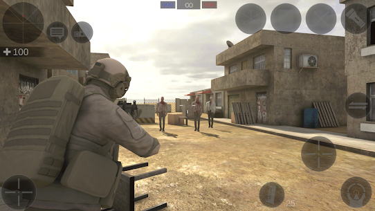 Zombie Combat Simulator  Apk + Mod + Data for Android 5