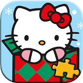 Hello Kitty Christmas Puzzles - Games for Kids 🎄