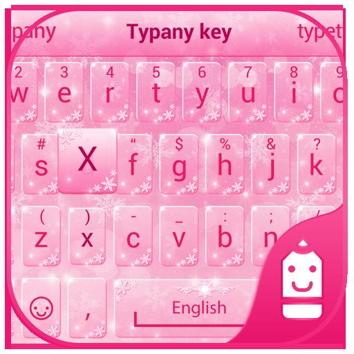 Pink Snow Theme&Emoji Keyboard Aplicaciones (apk) descarga gratuita para Android/PC/Windows