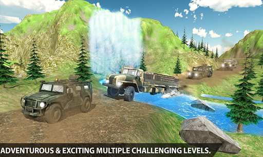 Dirt Road Army Truck 2 1.0.1 screenshots 2