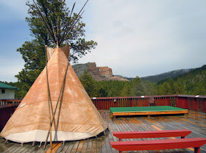 Photo: The view from Crazy Horse esplanade, after it eventually stopped raining.