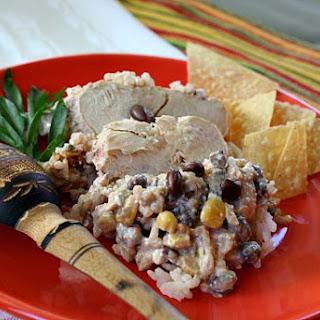 Southwestern Crock Pot Chicken.