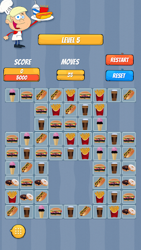 Match 3 - Fast Food for PC