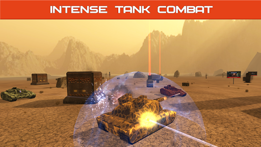 Télécharger Gratuit Tank Combat : Iron Forces Battlezone APK MOD (Astuce) screenshots 1