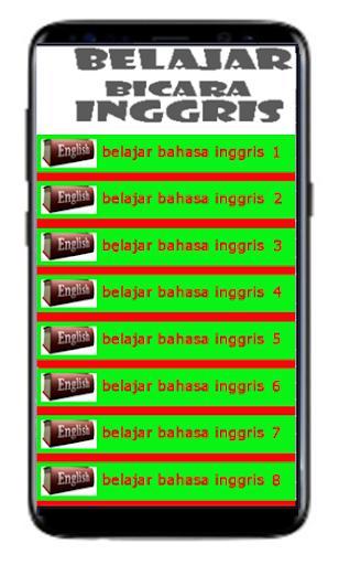 Belajar Bahasa Inggris Sehari-Hari Free 1.1 screenshots 1
