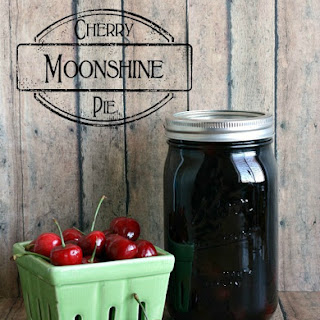 Cherry Pie Moonshine {Drinks with the Girls - Summer Edition}.
