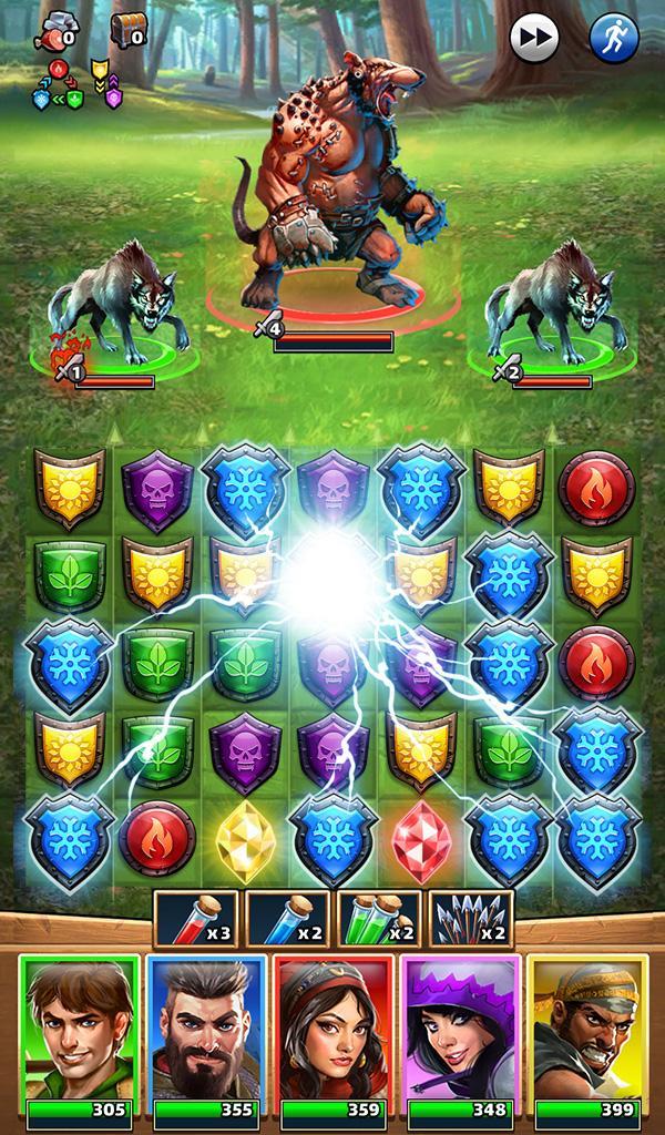 Empires & Puzzles: RPG Quest Screenshot 19