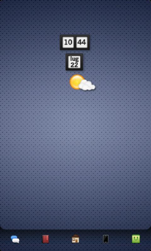 Скриншот mClock