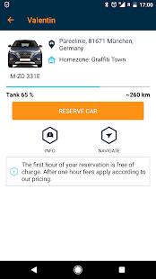 BeeZero Carsharing - náhled