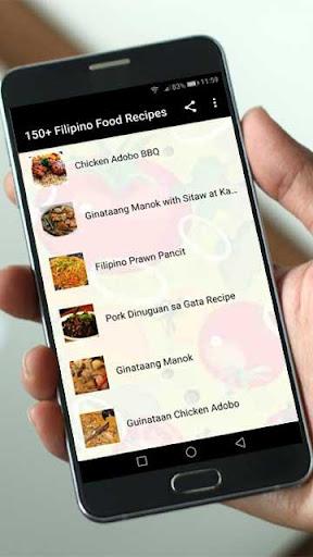 150+ Filipino Food Recipes 2.3 screenshots 2