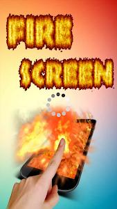 Fire Screen Torch - Prank screenshot 0