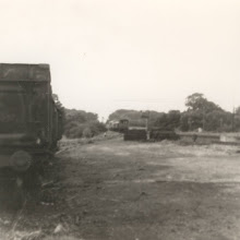 Photo: New trucks delivered and the rest head back to Oxford (1969?)