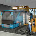 Smart Bus Wash Service: Gas Station Parking Games icon