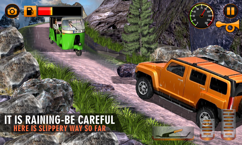 Off Road Tuk Tuk Rickshaw- screenshot