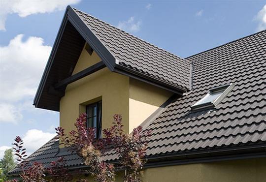 Blachodachówka modułowa - pokrycie dachowe