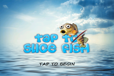 Tap To Slice Fish- screenshot