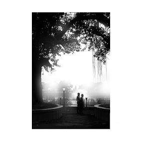 Love in Rajbari by Pranab Sarkar - Wedding Bride & Groom ( love, prewedding, couple, lovebirds, wedding )