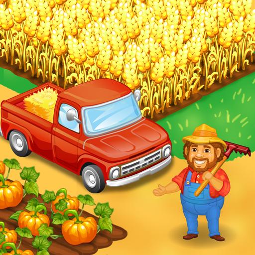 Baixar Fazenda Farm: Feliz agricultura dia & Comida jogos para Android