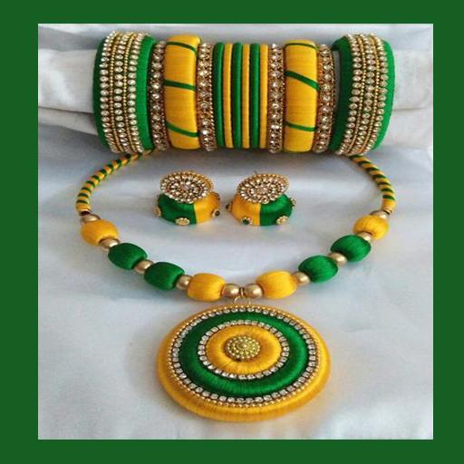 How To Make Silk Thread Jewellery Videos
