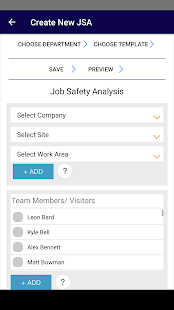 Job Safety Analysis- screenshot thumbnail