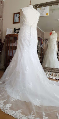 D1553-C Sacha James Wedding Dress