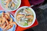鹽蒸蝦海產粥