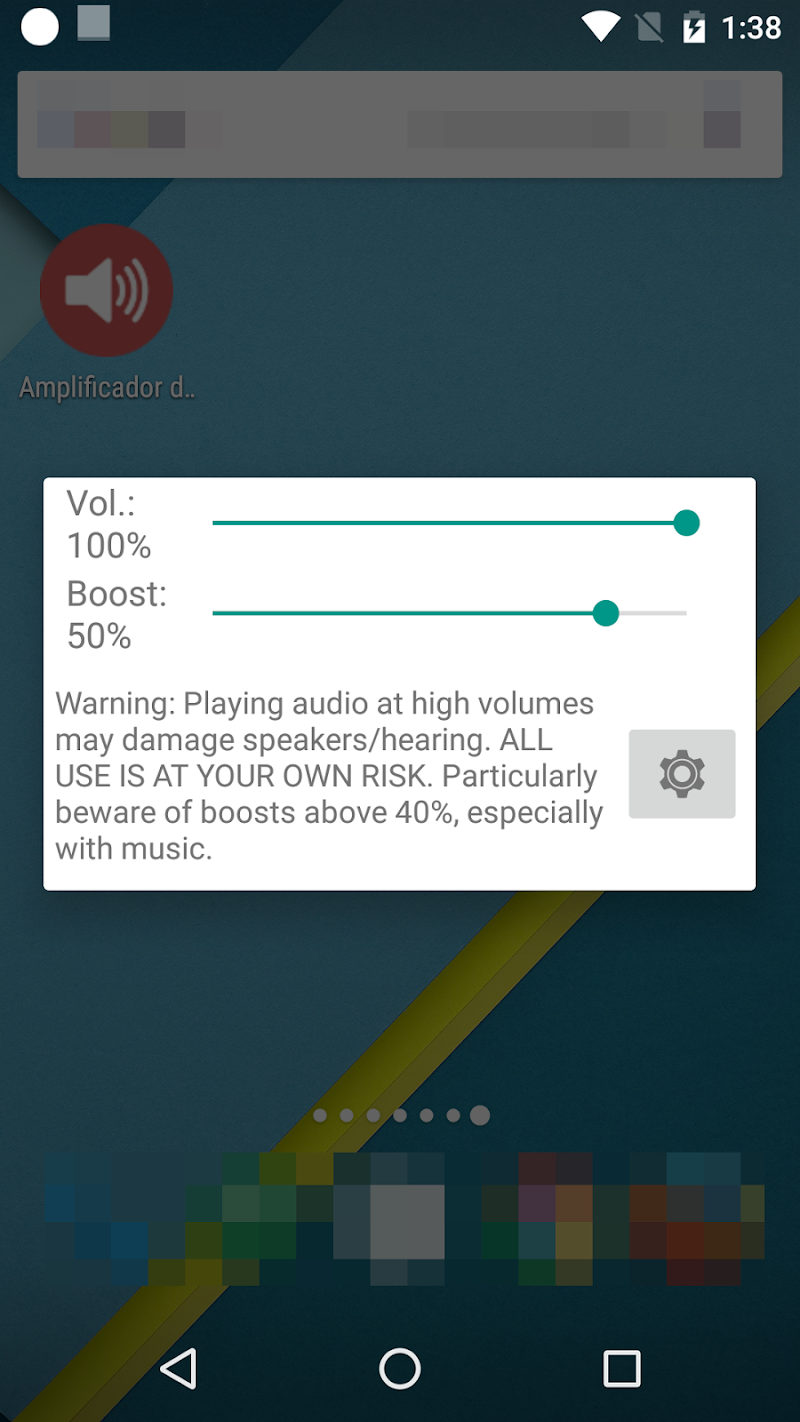 Volume Booster GOODEV Screenshot 1