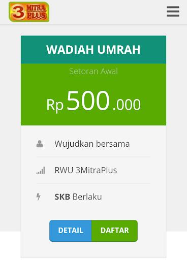 3Mitraplus - Paket Umrah  screenshots 4