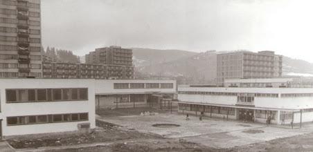 Photo: Pohľad na centrum sídliska, ktorý už prešiel mnohými úpravami.
