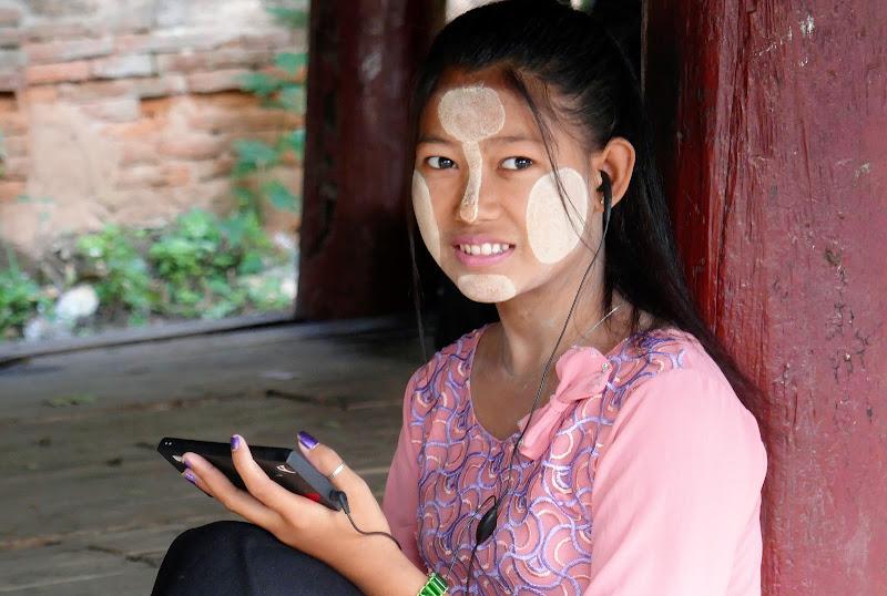 Donna birmana di Piera