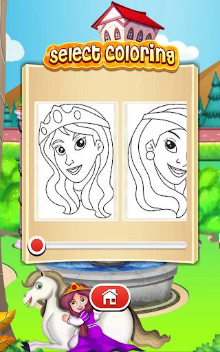 Princess Coloring Game  screenshots EasyGameCheats.pro 5