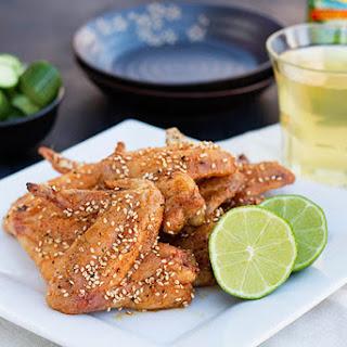 Oven Fried Japanese Chicken Wings (Tebasaki)