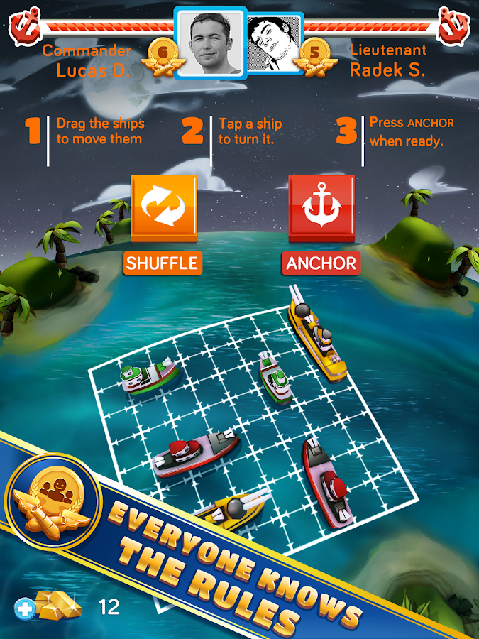 BattleFriends at Sea- screenshot