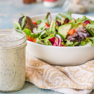 Dairy Free Homemade Ranch Dressing (low carb).