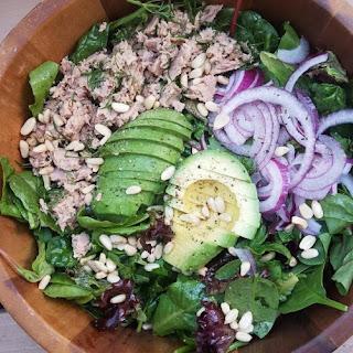 Organic Spring Green Tuna Salad Recipe