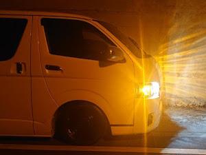 """ハイエースバン  GDH201V S-GL DARK PRIME Ⅱ"""" DIESEL 2WDのカスタム事例画像 かつぽよ💕さんの2019年11月26日06:31の投稿"""